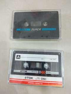 Antique Cassette Tapes
