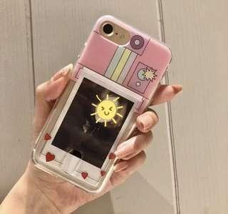 🚚 Korean uzzlang cute polariod phone case