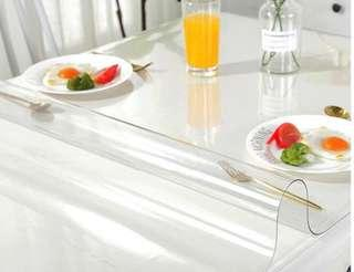 🚚 Transparent Tabletop PVC Cover