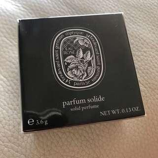 🚚 Diptyque 玫瑰之水 固體香膏 3.6g