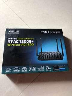 🚚 ASUS Router (RT-AC1200G+)