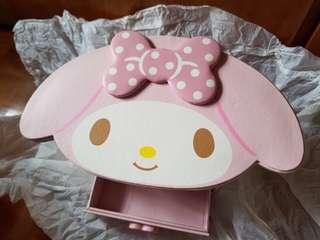 🆕️My Melody 飾物盒(皮制)