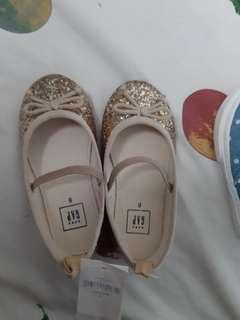 Gap glittery doll shoes