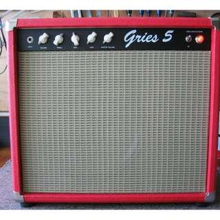 Gries 5 1x12 Guitar Tube Amp (Red Tolex)