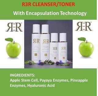 🚚 2 bottles Encapsulation Cleanser and Toner with 8 benefits