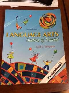 Language Arts: Patterns of Practice