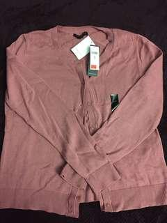 Banana Republic Factory Pink Cardigan
