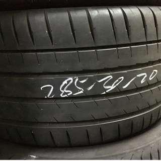 Pre-Owned Michelin Pilot Sports 4 S 285/30/20 Tyre