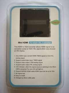 🚚 VGA TO HDMI CONVERTER ADAPTER