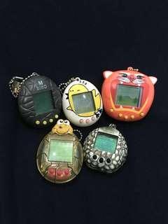 Assorted faulty virtual pet devices
