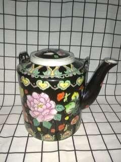 Vintage Flower Tea Pot
