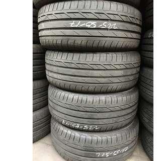 Pre-Owned Bridgestone Turanza T001 RUNFLAT 225/50/17 Tyre