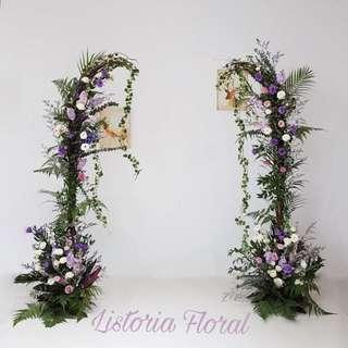 🚚 Wedding Floral Arch