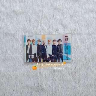 BTS LIMITED「FAKE LOVE / Airplane pt.2」IC CARD STICKER