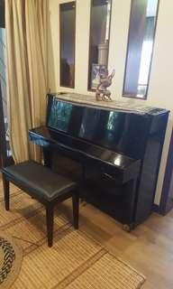 P Welce - Upright Piano with Stool