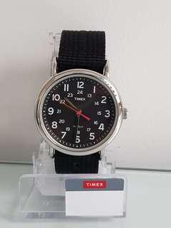 Timex Weekender Black Dial 38mm