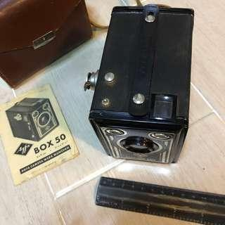 AGFA Camera Werk Munchen Box 50