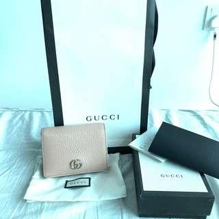 Authentic full set Gucci compact wallet / cardholder
