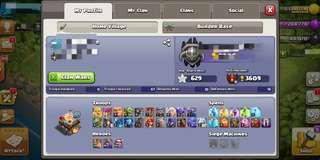Clash of Clans TH11 (LEVEL 160+)