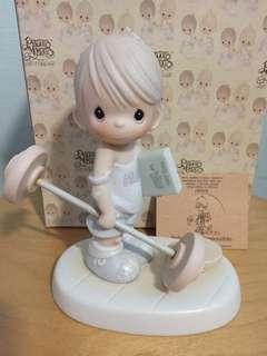 Buy 3 Get 1 Free : Precious Moments Boy Figurine : Believe The Impossible