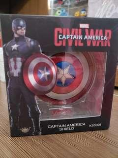 99%新 Captain America Civil War 1:9 合金盾 美國隊長 marvel figure
