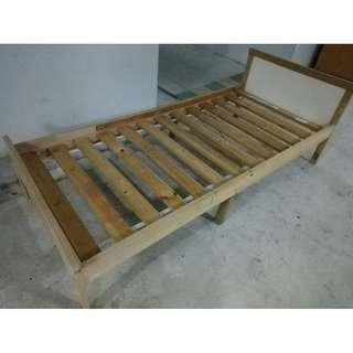 Kid bed frame ($40 Self Collect at 11 Woodlands Close)