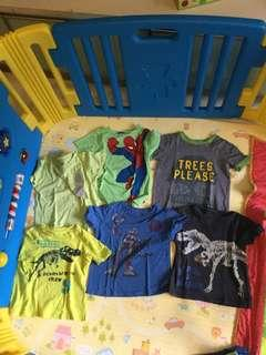 $5 for all Bundle boy clothes tee