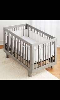 🚚 BreathableBaby Mesh Crib Liner