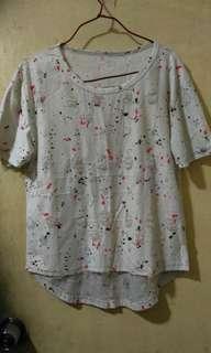 彩色潑墨T-shirt