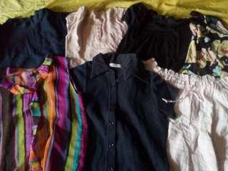 7 Tops for only 150