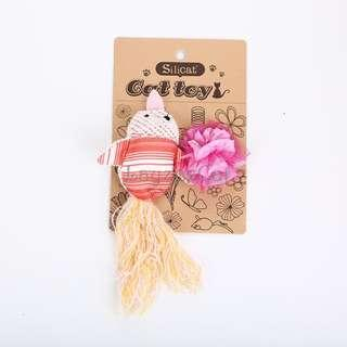[Ready Stock] CT063 Cat Toys Set - Pink Bird