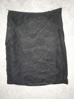 Bettina Liano Black Skirt