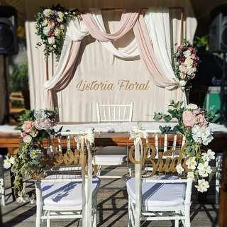 🚚 Wedding Floral Arch (Garden)