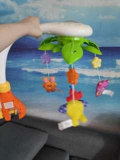 Baby cot toy Dream pets mobile