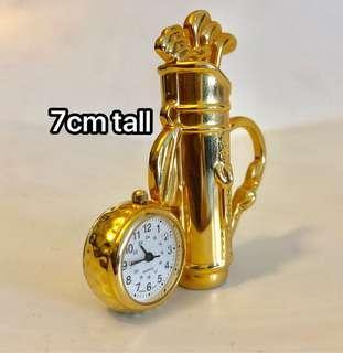 Mini Clock. Golf