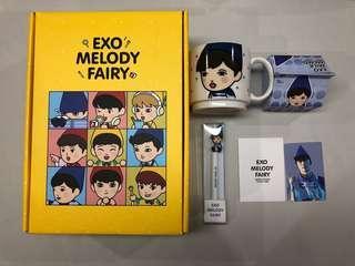 Lay EXO Melody Fairy box