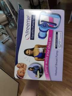 Freemie breast pump