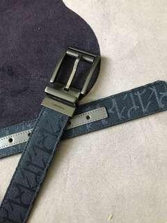 Calvin Klein CK men's leather belt ($30only)