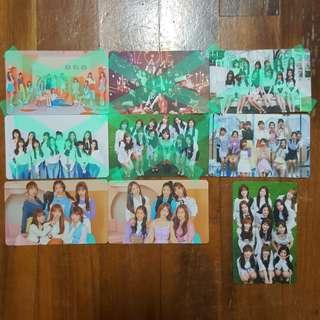 🚚 iz*one izone unofficial photocards lomo lomocard