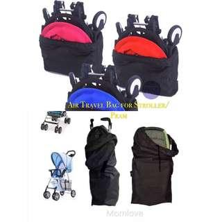 🚚 Ready Stock! Brand New Baby Pram/Umbrella Stroller Air Travel Holiday Bag Cover Storage Protective Anti Dust Bag