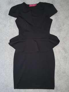 Boohoo Black Mini Dress