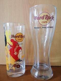 Hard Rock Cafe Drinking Glass, Bangkok & Makati