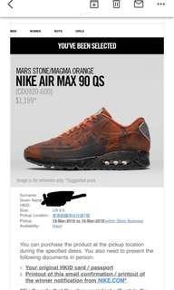 Nike air max 90QS