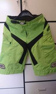 Troy lee Designs TLD moto shorts green