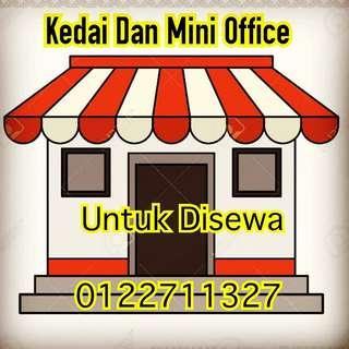 Kedai atau mini office untuk disewa area damansara