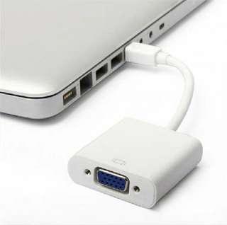🚚 Mini display port to VGA Adapter