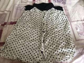 🚚 Bn polkadot blouse women