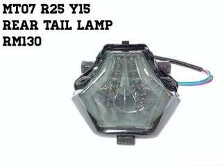Rear tail lamp Y15 R25 MT07