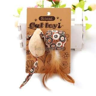 [Ready Stock] CT067 Cat Toys Set - Mouse and Ball