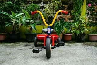 Sepeda WINTHER tricycle with push handle